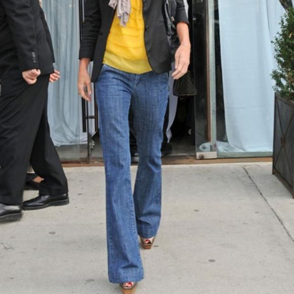 St. John Denim - St. John Collection Marie Gray Trouser Jeans
